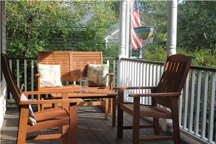 Soulth Chatham Cape Cod vacation rental - Relaxing porch on Main House