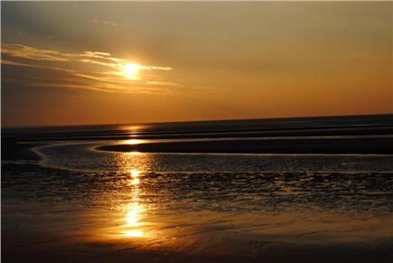 North Eastham Cape Cod vacation rental - Sunset at Campground Beach