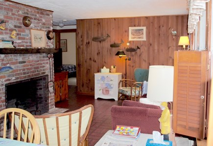 North Eastham Cape Cod vacation rental - LIVING AREA TOWARD BEDROOMS