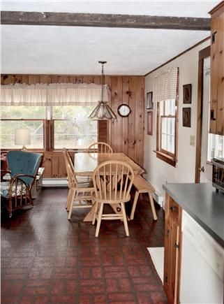 North Eastham Cape Cod vacation rental - KITCHEN TOWARDS DINING AREA