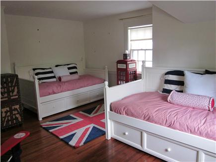 East Orleans Cape Cod vacation rental - British-Red Sox Trundle Room - sleeps 4