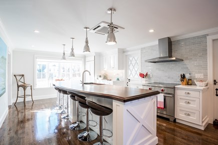 East Orleans Cape Cod vacation rental - Brand New Chef Kitchen with 12 foot African mahogany island
