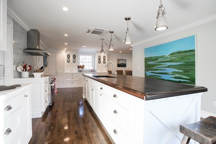 East Orleans Cape Cod vacation rental - Brand New Kitchen with Wolf Induction stove Sub Zero