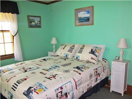 Mashpee Cape Cod vacation rental - Queen bed waiting for a nights rest.