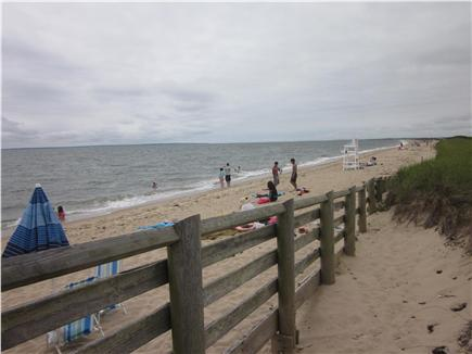 Mashpee Cape Cod vacation rental - South Cape Beach, one mile from cottage.
