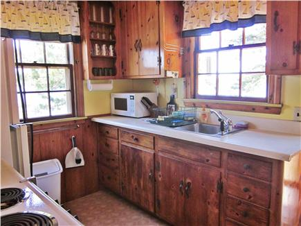 Mashpee Cape Cod vacation rental - The efficient kitchen for preparing great meals.