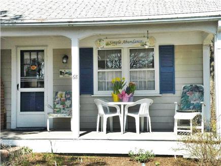 West Dennis Cape Cod vacation rental - Front porch