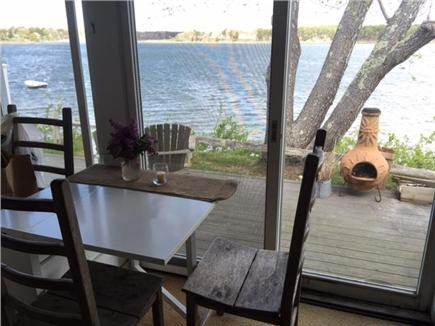 South Dennis Cape Cod vacation rental - Relax & enjoy views of Grand Cove & private beach