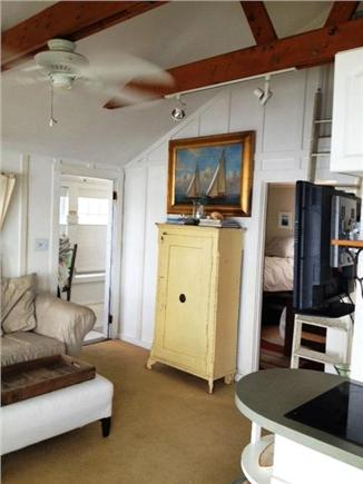 South Dennis Cape Cod vacation rental - Exposed beams, vaulted ceilings, beachy & cozy decor
