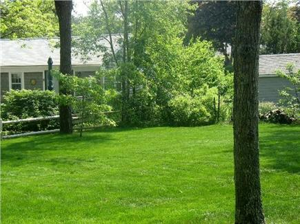West Yarmouth Cape Cod vacation rental - Large Back Yard for sitting and playing