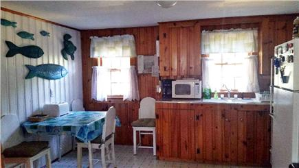West Yarmouth Cape Cod vacation rental - Kitchen with Gas stove, Fridge, Microwave, Blender, Toaster, etc.