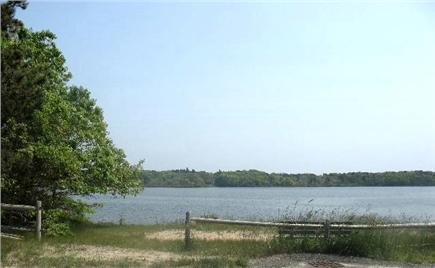 West Yarmouth Cape Cod vacation rental - Views of Swan Pond (salt water pond); Beach access:Kayak allowed
