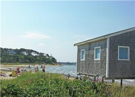 Chatham Cape Cod vacation rental - Town landings at foot of hill