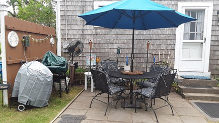 Chatham Cape Cod vacation rental - Outside patio area