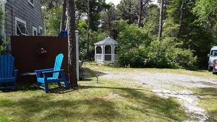 Chatham Cape Cod vacation rental - Gazebo in back/driveway/screen