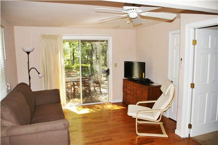 Eastham Cape Cod vacation rental - Bedroom 3, towards slider and deck