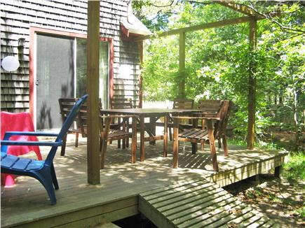 North Eastham Cape Cod vacation rental - The deck