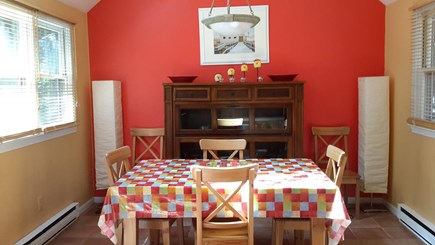 North Eastham Cape Cod vacation rental - Dining room viewed from the kitchen