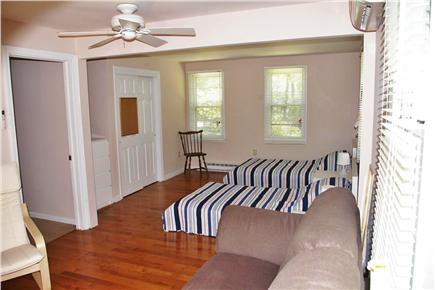 North Eastham Cape Cod vacation rental - Bedroom 3, ground floor view from sliders