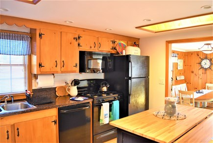 West Yarmouth Cape Cod vacation rental - Kitchen opens to dining