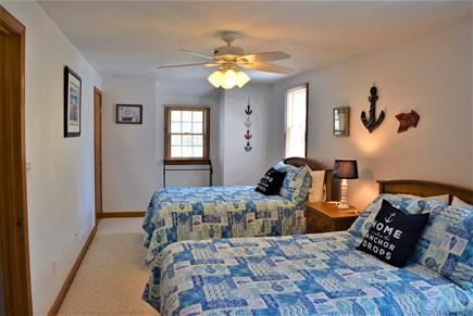 West Yarmouth Cape Cod vacation rental - 2nd floor bedroom with 2 double beds