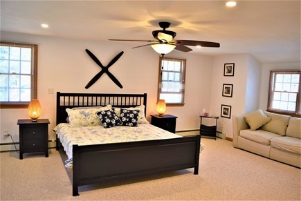 West Yarmouth Cape Cod vacation rental - Master Bedroom with private bath
