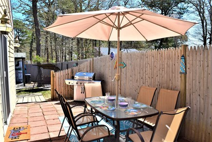 West Yarmouth Cape Cod vacation rental - Outdoor dining