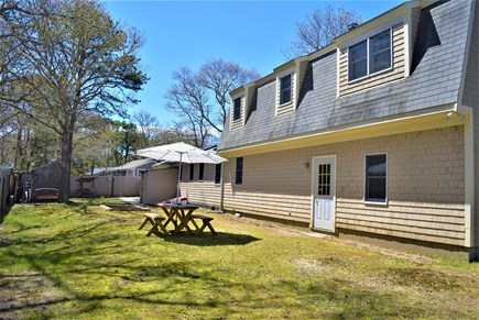 West Yarmouth Cape Cod vacation rental - Large backyard- fenced in for privacy