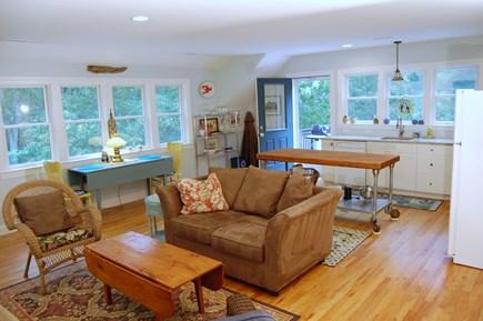 Wellfleet Cape Cod vacation rental - Living area (barn)
