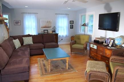 Wellfleet Cape Cod vacation rental - Living room (main house)