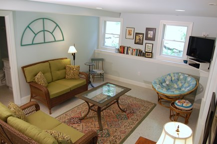 Wellfleet Cape Cod vacation rental - Lower level living area (main house)