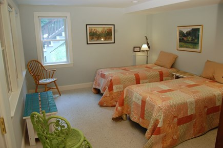 Wellfleet Cape Cod vacation rental - Lower level bedroom 2 (main house)