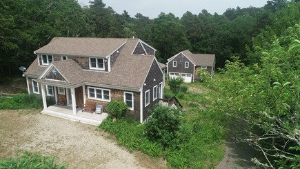 Wellfleet Cape Cod vacation rental - Main house with barn behind