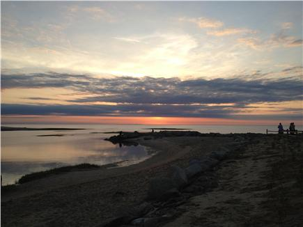 Brewster Cape Cod vacation rental - Sunset at Paines Creek beach
