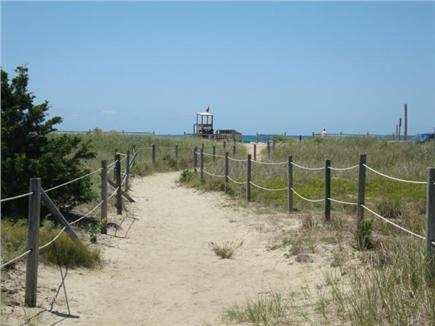 dennis port Cape Cod vacation rental - Nearby pathway to beach