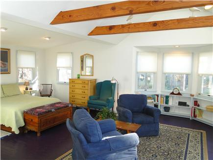 Chatham Cape Cod vacation rental - Master suite with vaulted ceilings, full bathroom and laundry