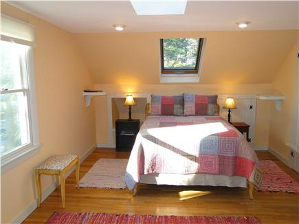 Chatham Cape Cod vacation rental - Large Upstairs bedroom with double bed, skylight