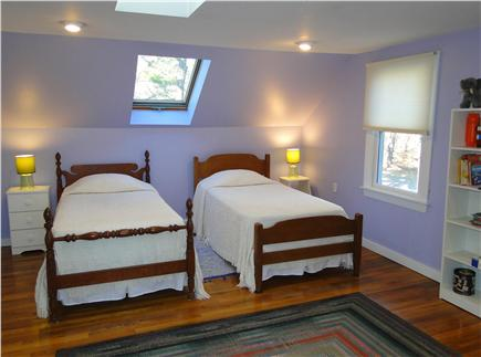 Chatham Cape Cod vacation rental - Large twin bedroom, skylight