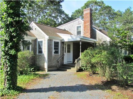 Chatham Cape Cod vacation rental - Farmer's Porch and two parking areas for vehicles