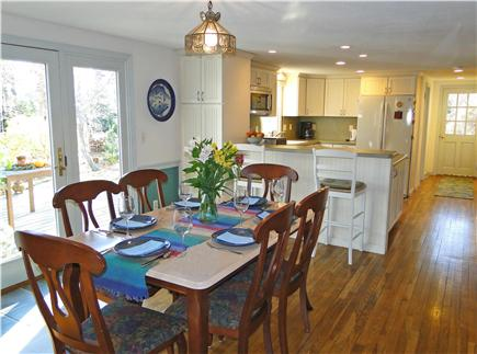 Chatham Cape Cod vacation rental - Sunny dining room adjacent to kitchen area