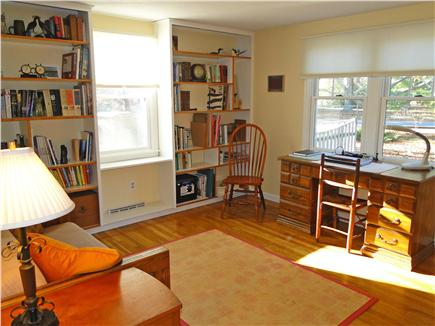 Chatham Cape Cod vacation rental - Den on first floor, adjacent to kitchen