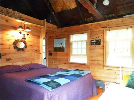Provincetown Cape Cod vacation rental - Comfortable En-Suite with Premium Queen Bed & Open Ceiling