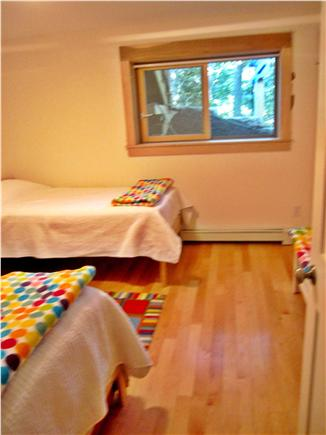Wellfleet Cape Cod vacation rental - Bedroom with twin beds
