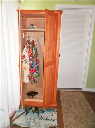 Falmouth, Surf Beach Cape Cod vacation rental - Armoire in your LARGE walk-in  storage closet
