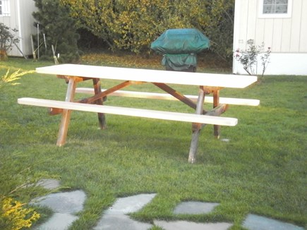 Falmouth, Surf Beach Cape Cod vacation rental - Your picnic table with gas grill