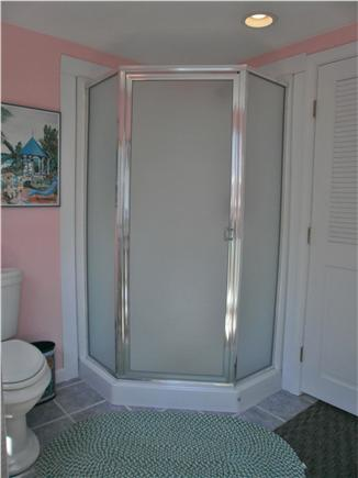 Falmouth, Surf Beach Cape Cod vacation rental - Indoor Corner Shower