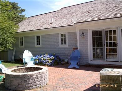 Osterville Osterville vacation rental - Fire Pit on the patio.
