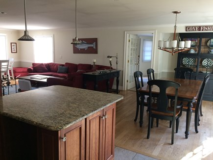 Osterville Osterville vacation rental - Dining area opens up to family room. Dining area seats 8 people.
