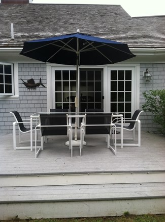 Osterville Osterville vacation rental - Patio seating for 6.
