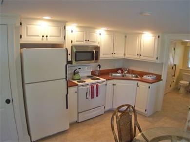 West Barnstable Cape Cod vacation rental - Lower level suite has a full kitchen and living room...